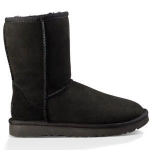 Classic Short Women Ugg Boots Black
